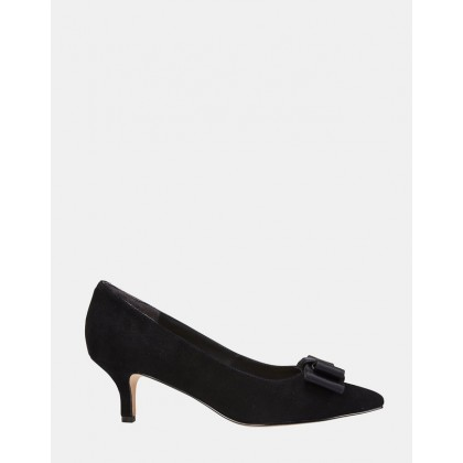 Zara BLACK SUEDE by Jane Debster