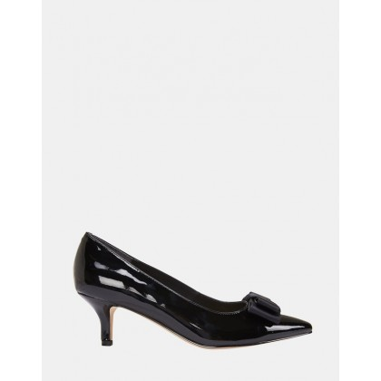 Zara BLACK PATENT by Jane Debster