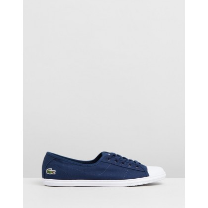 Ziane BL 2 CFA - Women's Navy & White by Lacoste
