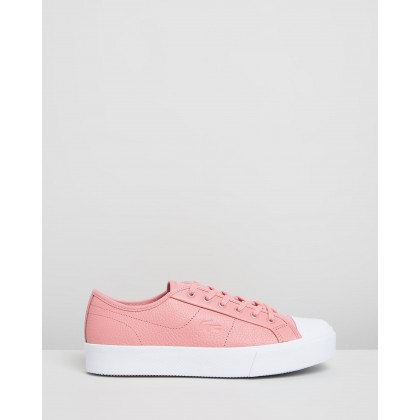 Ziane Plus Grand 319 1 CFA - Women's Pink & White by Lacoste