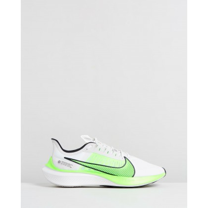 Zoom Gravity - Men's Platinum Tint, Electric Green, Black & White by Nike