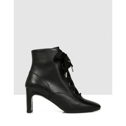 Zuri Ankle Boots NERO by S By Sempre Di