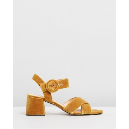 Penny Sandals Gilded Amber by J.Crew