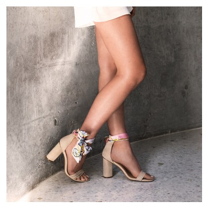 Kallista - Seashell Suede by Siren Shoes