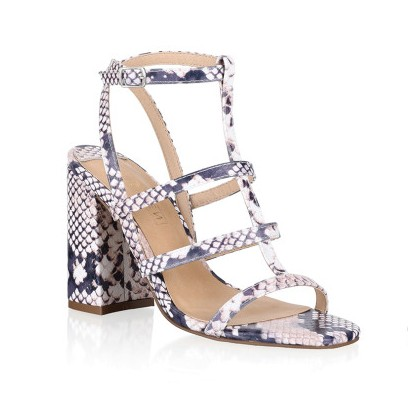 Kristy - Multi Snake Print by Siren Shoes