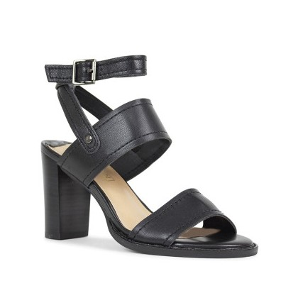 Libby - Black Nappa Kid by Siren Shoes