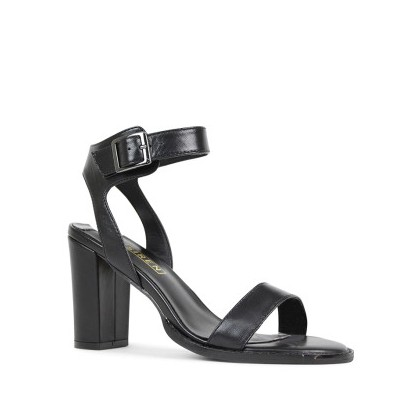 Lindsey - Black Nappa Kid by Siren Shoes