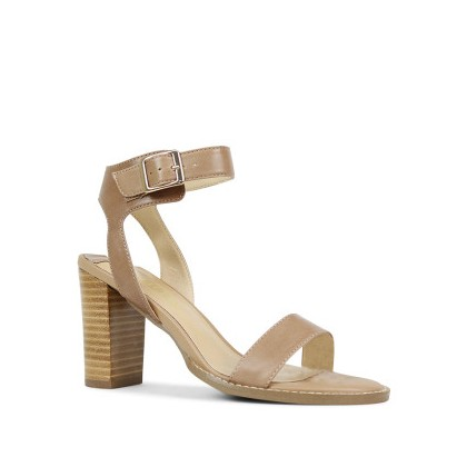 Lindsey - Camel Nappa Kid by Siren Shoes