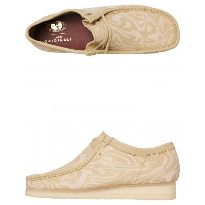 Mens Wu Tang Wallabee Lo Shoe Maple Multi