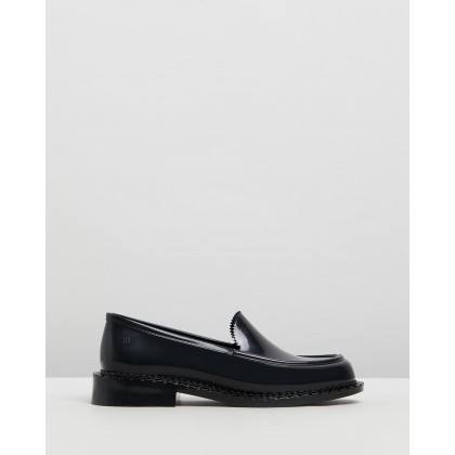 Penny Loafers Black Gloss by Melissa