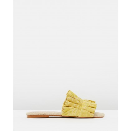 Moly Sandals Yellow by M.N.G