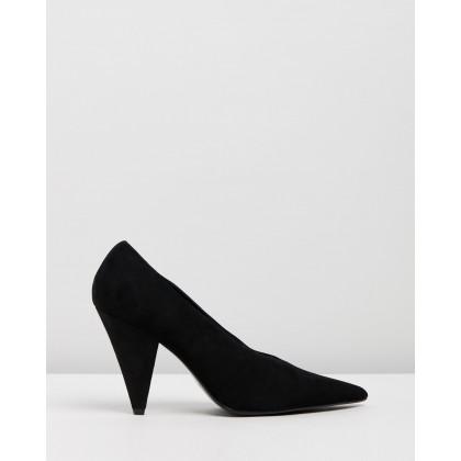Daguo Shoes Black by Vionic