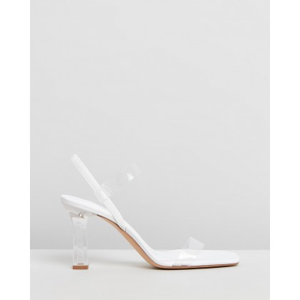 Dolly Sandals White by M.N.G