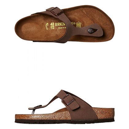 Mens Regular Gizeh Sandal Mocca