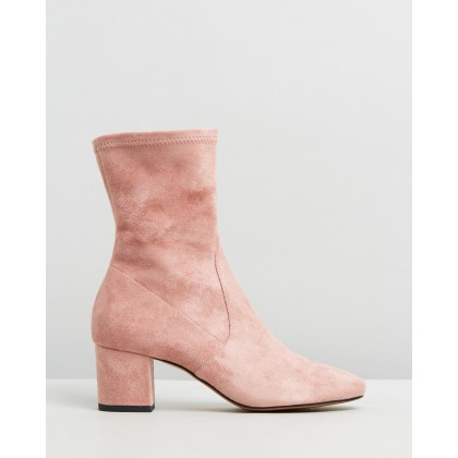 Careful Blush Microsuede by Mollini