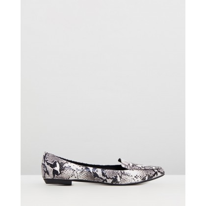 Gyro Black and White Python by Mollini