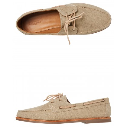 Billi Shoe Natural Linen