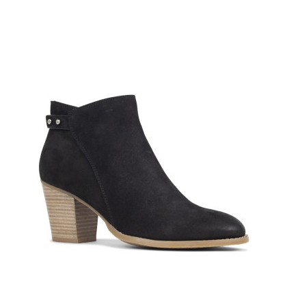 Naughty - Black Nubuck by Siren Shoes