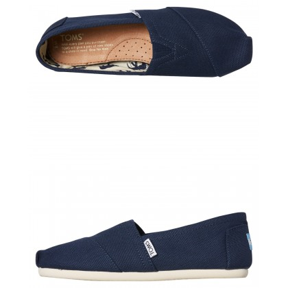 Mens Alpargata Shoe Navy
