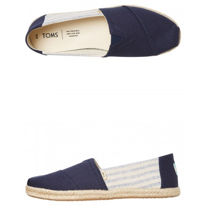 Womens Alpargata On Rope Shoe Navy University