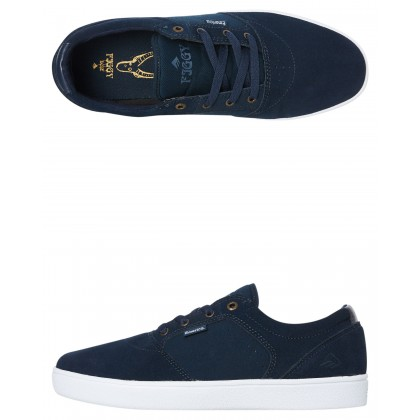 Figgy Dose Shoe Navy White