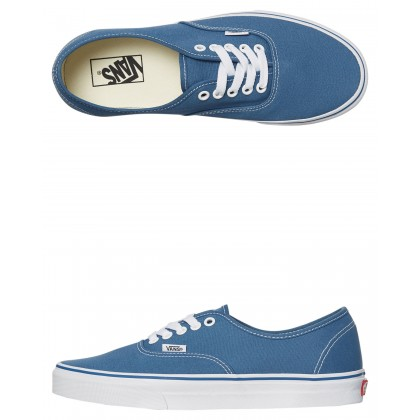 Womens Authentic Shoe Navy White By VANS