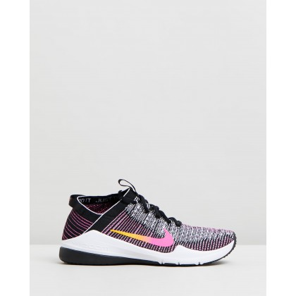 Air Zoom Fearless Flyknit 2 - Women's Black, University Gold & Laser Fuchsia by Nike