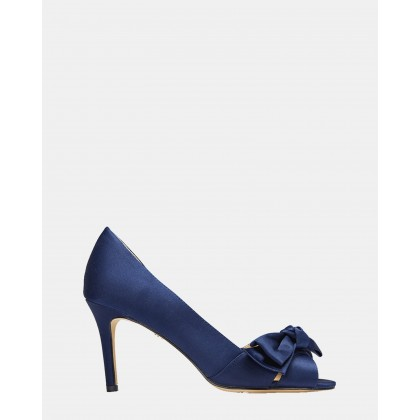 Forbes 2 NAVY SATIN by Nina
