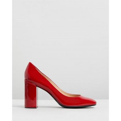 Gladys Red Patent by Nina Armando