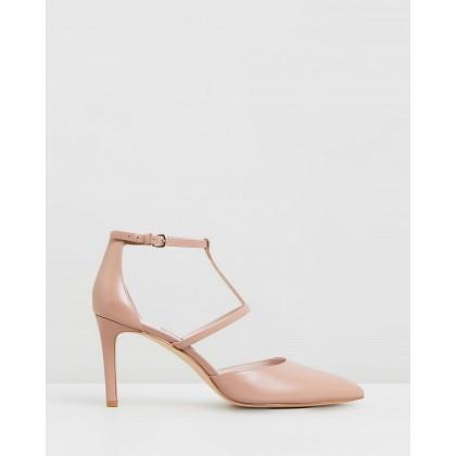 Cintia Medium Pink Leather by Nine West