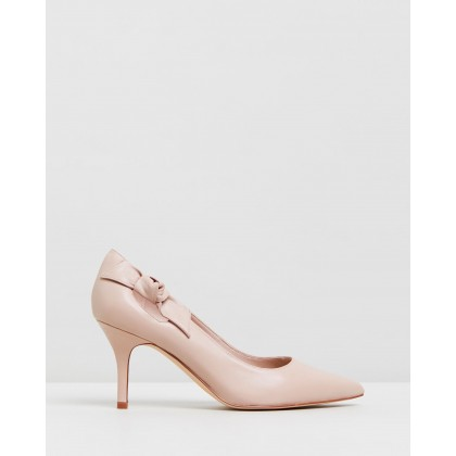 Thayer Light Pink Leather by Nine West