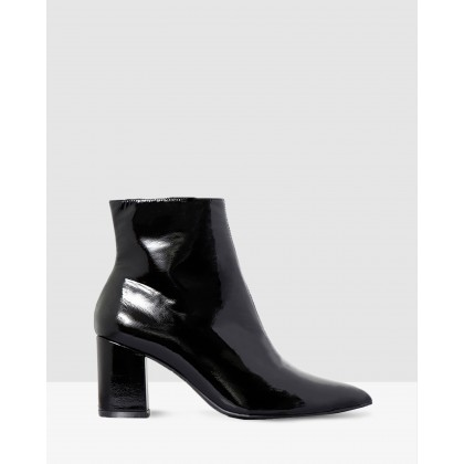 Emory Black Patent Leather by Nude