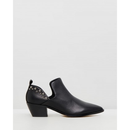 Romney Black Leather by Nude