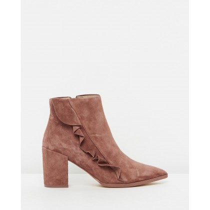 Finley Rosewood Suede by Nude