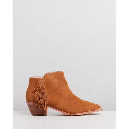 Harley Tan Suede by Nude