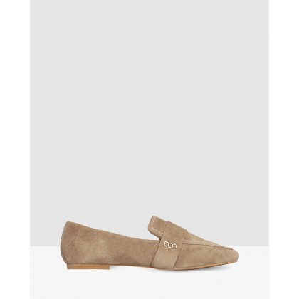 Benito Khaki Suede by Nude
