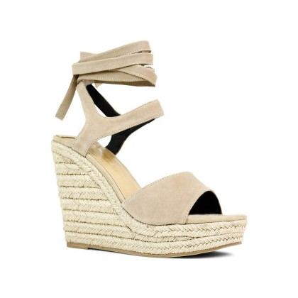 Ophelia - Seashell Kid Suede by Siren Shoes