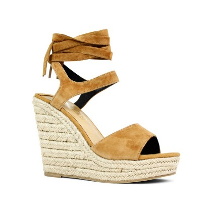 Ophelia - Light Tan Kid Suede by Siren Shoes