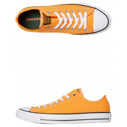 Chuck Taylor All Star Embroidered Shoe Orange Rind