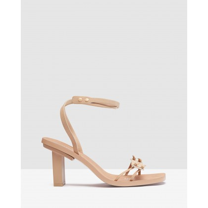 Angela Architectural Heel Shoe Sand by Oxford