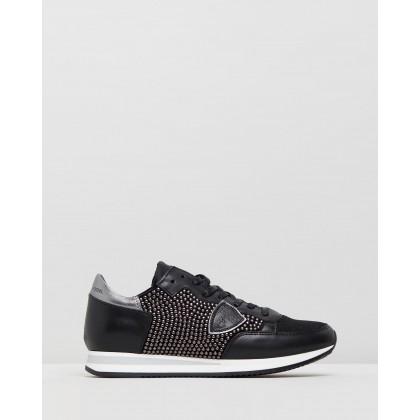 Tropez Sneakers Studs Full Noir by Philippe Model