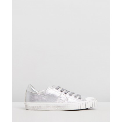 Gare Sneakers Metal Argent by Philippe Model