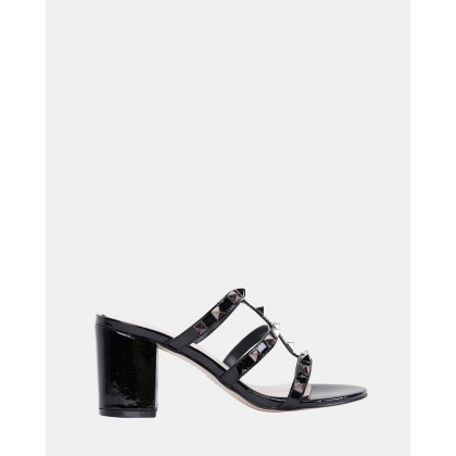 Portugal Black patent by Pink Inc