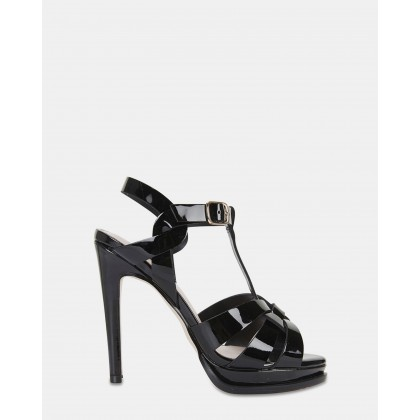 Empire BLACK PATENT by Pink Inc