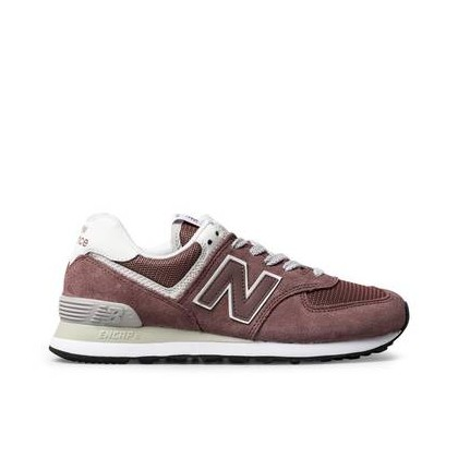 574 WOMENS MAUVE/WHITE 0