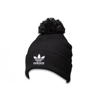 Aidcolor Bobble Beanie Black