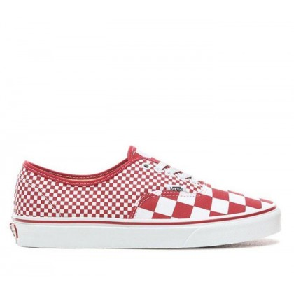 Authentic Mix Checker Chilli Pepper/True White (Mix Checker) Chili Pepper/True White