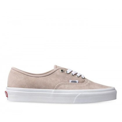 Authentic Pig Suede (Pig Suede) Shadow Gray/True White