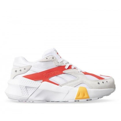 Aztrek Double x Gigi Hadid Dd Gigi-White/True Grey/Neon Red/Solar Gold