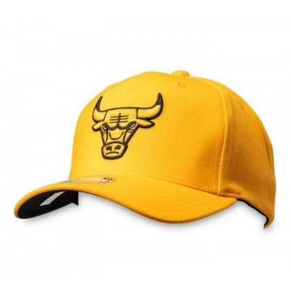 Bulls Crown 110 Snapback Bulls Gold